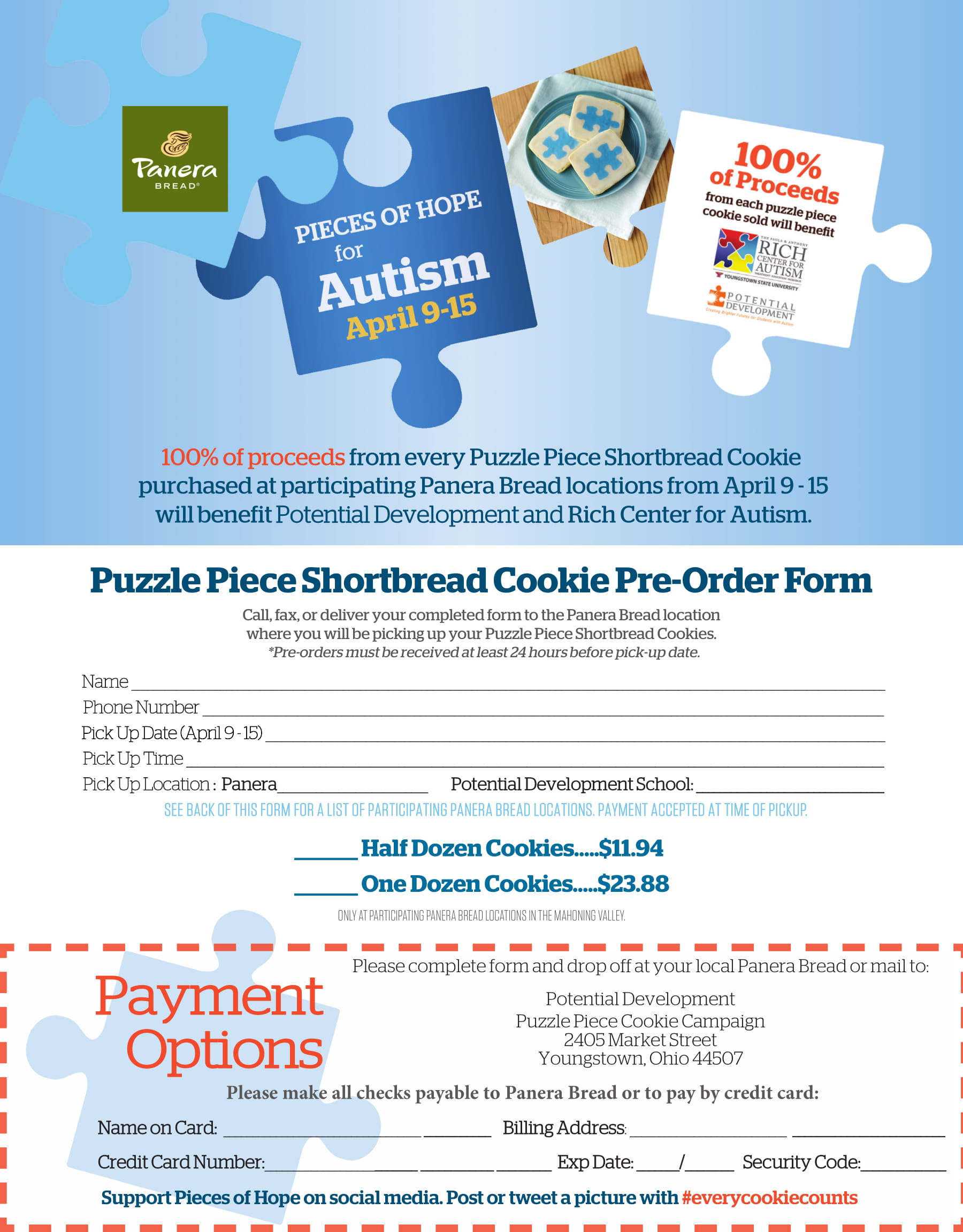 2018 Valley Autism Cookie Order PD Form-1