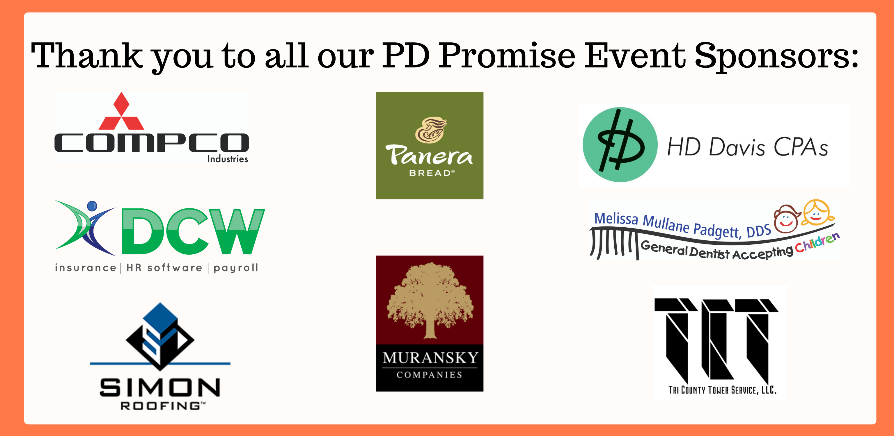PD Promise Event Sponsors Virtual Auction